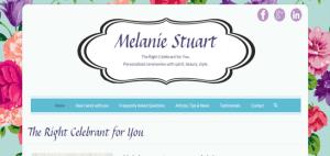 Mel Stuart Celebrant website