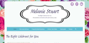 Melanie Stuart (Celebrant)