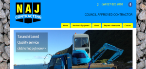 naj contracting website