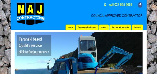 naj contracting website